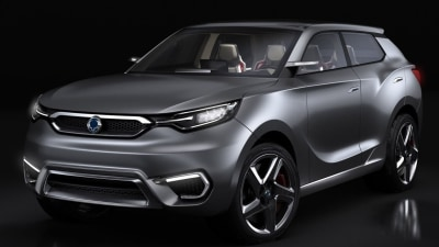 SsangYong SIV-1 Previews New SUV