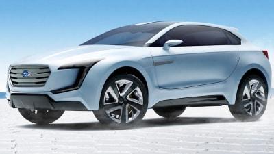 Subaru Viziv Concept Teased Further Ahead Of Geneva Debut