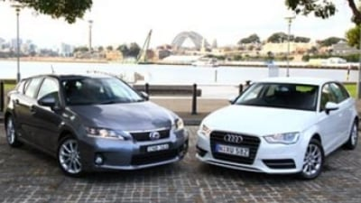 Head to head: Lexus CT200h Luxury v Audi A3 1.6 TDI Attraction