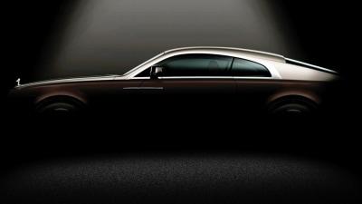 Rolls-Royce Teases Wraith Coupe