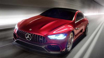 2018 Mercedes-AMG GT Sedan Confirmed