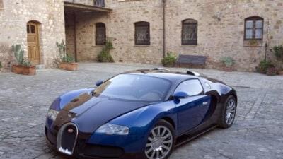 Bugatti Veyron at 2008 Melbourne Motor Show