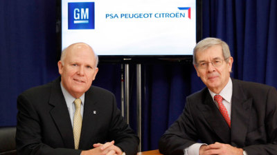 GM And PSA Peugeot Citroen Form Alliance, Joint Model Due In 2016