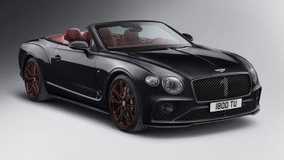 Bentley Continental GT Convertible Number 1 Edition revealed
