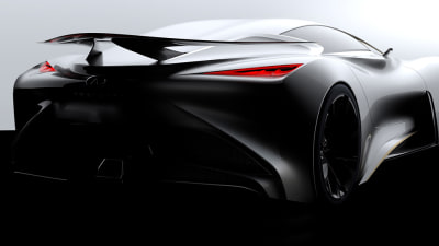 Infiniti Vision GT Supercar Teased