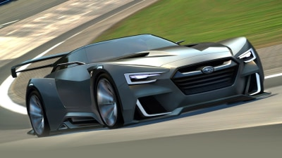 Subaru Viziv GT Racer Revealed
