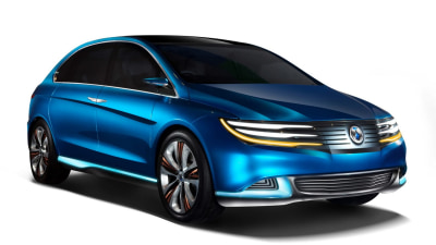 Daimler And BYD Reveal Denza Concept In Beijing