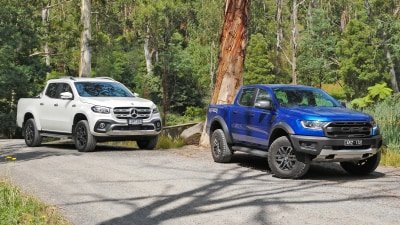 Ford Ranger Raptor vs Mercedes-Benz X-Class V6