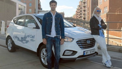 Hyundai ix35 Fuel Cell Sets New 24-Hour Hydrogen Record