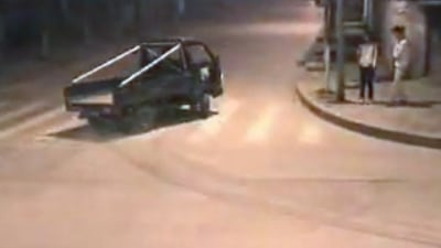 Video - Truck Drifting, OR, Initial D: China