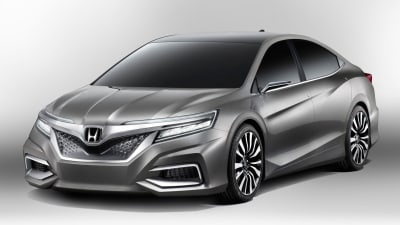 Honda C Concept Previews New China-only Sedan