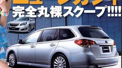 2010 Subaru Legacy Touring Wagon Leaked