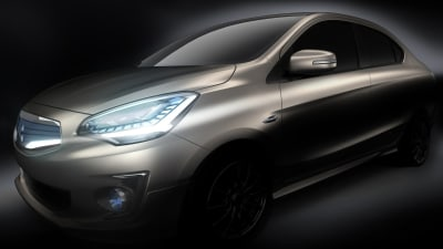 Mitsubishi Teases New G4 Light Sedan, Bound For Bangkok