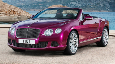 Bentley Continental GT Speed Convertible Revealed Ahead Of Detroit