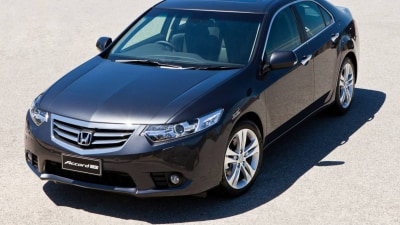 Honda Accord Pulled From European Markets