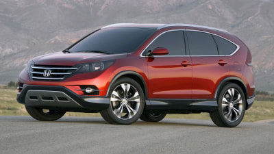 2012 Honda CR-V Revealed In Concept Form