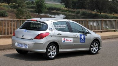 Peugeot 308 HDi Drives Coast To Coast In South Africa On A Single Tank