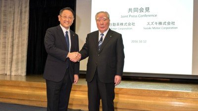 Toyota And Suzuki Join Forces With New R&D Partnership