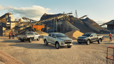 2021 Isuzu D-Max: What each model offers