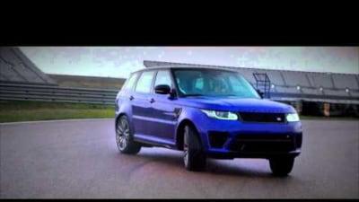 Range Rover Sport SVR Drifted: Video