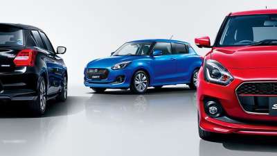 2017 Suzuki Swift Makes Overseas Debut