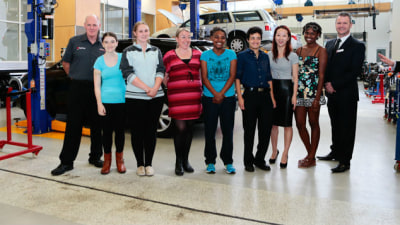 Fiat Chrysler 'Women In Auto Trades' Program A Success