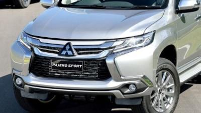 Mitsubishi Pajero Sport first drive review