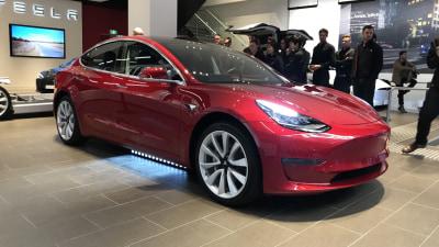 Tesla Model 3: First look for Australian customers