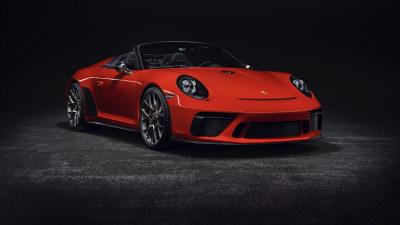 Porsche confirms 911 Speedster production