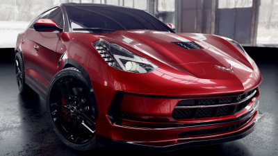 Corvette sub-brand could launch electric SUV to fight Mustang Mach-E – report
