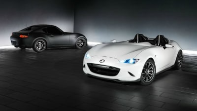 Mazda MX-5 Speedster Evo And RF Kuro Concepts Wheeled Out For SEMA