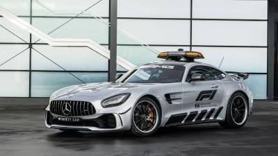 Mercedes-AMG unveils fastest-ever F1 safety car