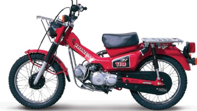 Honda CT110 'Postie Bike' Released For The Road