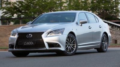 Lexus Upgrades GS, LS For 2015