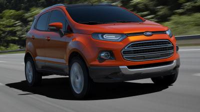 Ford EcoSport Compact SUV Revealed At New Delhi Auto Expo