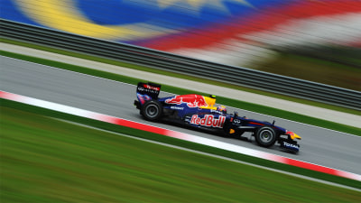 F1: Webber Dominates Practice In Malaysia