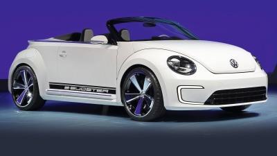 Volkswagen E-Bugster Speedster Concept Previews Beetle Cabriolet