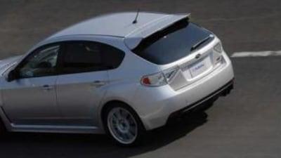 2008 Subaru WRX STi more video footage