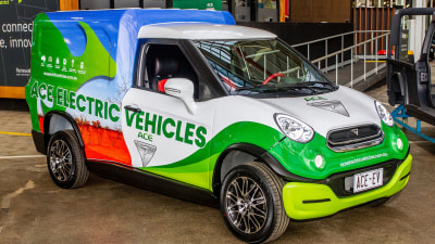 This Aussie company has affordable electric vans and utes available to order