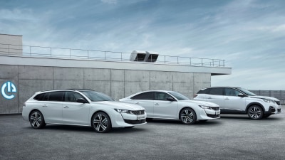 Peugeot reveals new hybrid range