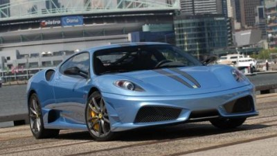 Ferrari 430 Scuderia in Melbourne for the Motorshow