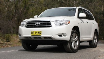 2009 Toyota Kluger Grande AWD Road Test Review