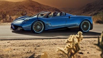 Pagani Huayra Roadster For Geneva Motor Show