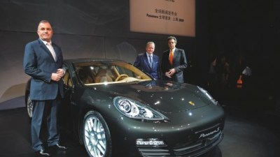 2010 Porsche Panamera Officially Debuts in Shanghai: Video And Images
