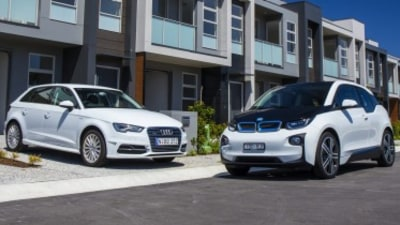 Audi A3 e-tron v BMW i3 Rex comparison review