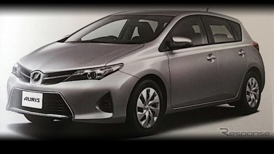 2013 Toyota Corolla Revealed Further In New Brochure Images