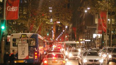 NSW Begins Motorcycle Filtering Trial In Sydney CBD