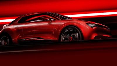 Kia Teases Fast Three-door Hatch Concept For Geneva