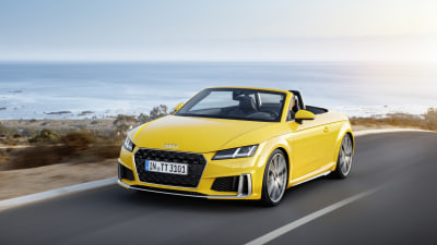 Audi updates TT coupe and roadster