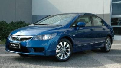 2010 Honda Civic Range Updated, Curtain Airbags Now Standard